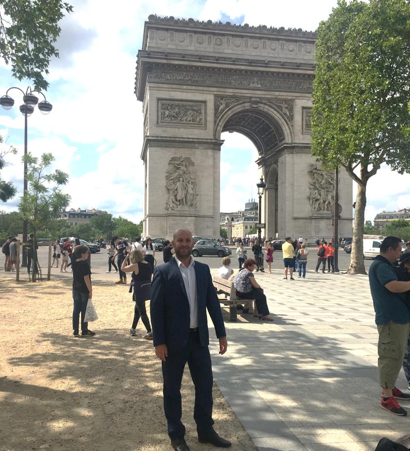 Carl in Paris