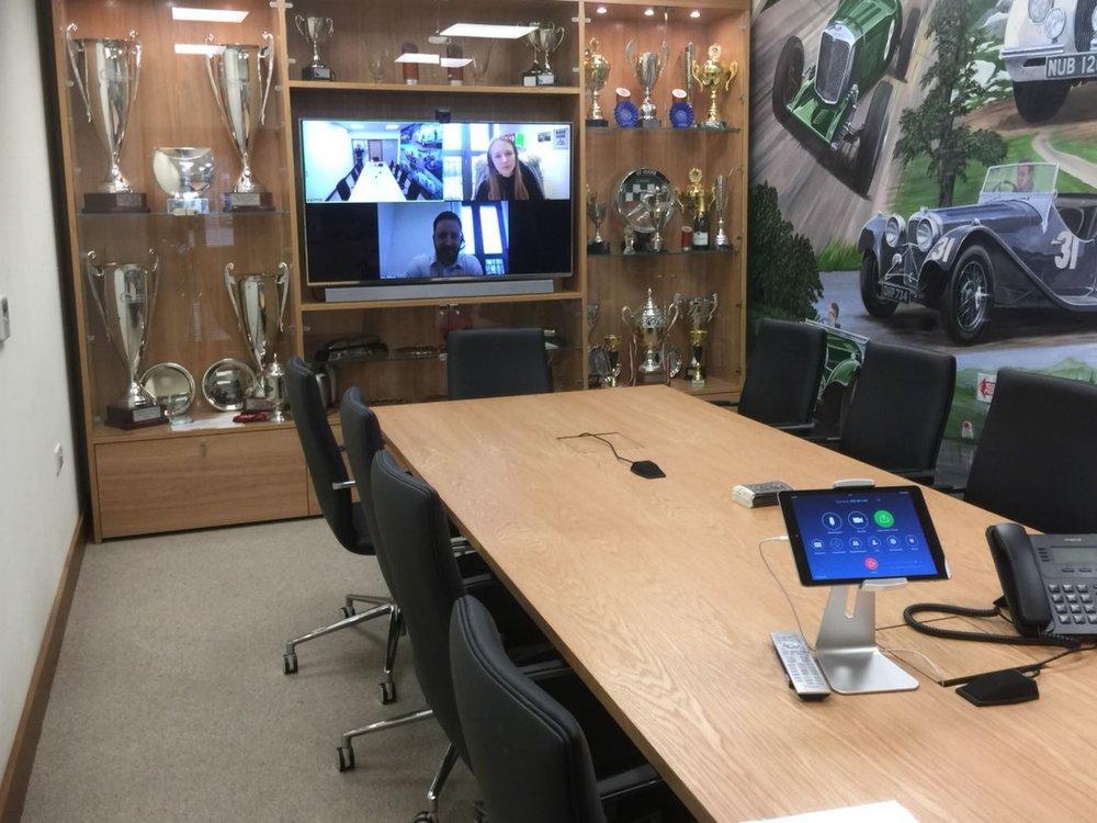JD Classics - Zoom Rooms video conferencingMarch 2018