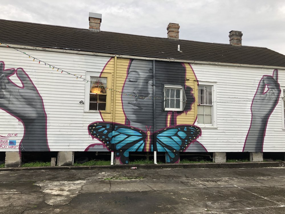 Mural by @osirisrain 2011 St. Claude Avenue