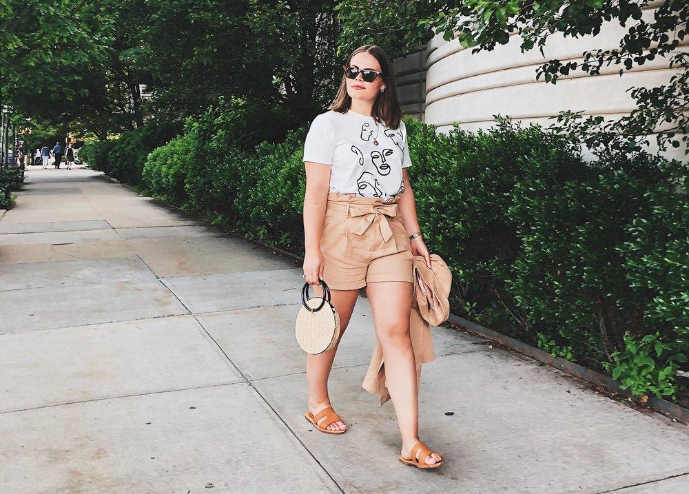 ASOS Linen Shorts