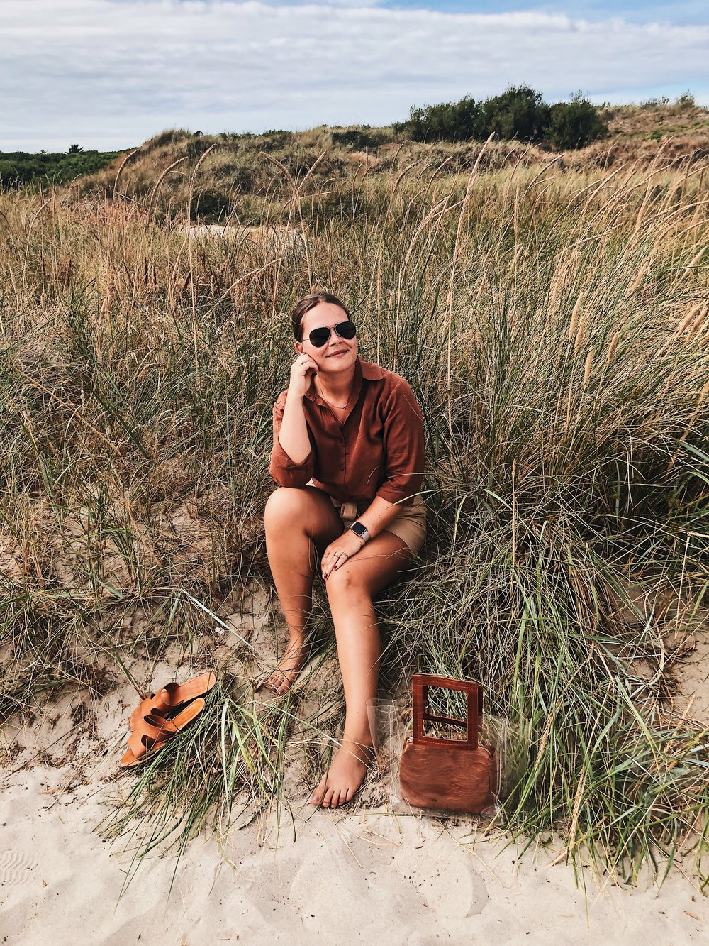 On the top of Denmark. - The intention was to share these photos with you a long time ago, but things went a little left and I didn't have much extra energy for blogging. Nonetheless, I want to share this little photo diary with you from our family trip to Skagen a few weeks back.