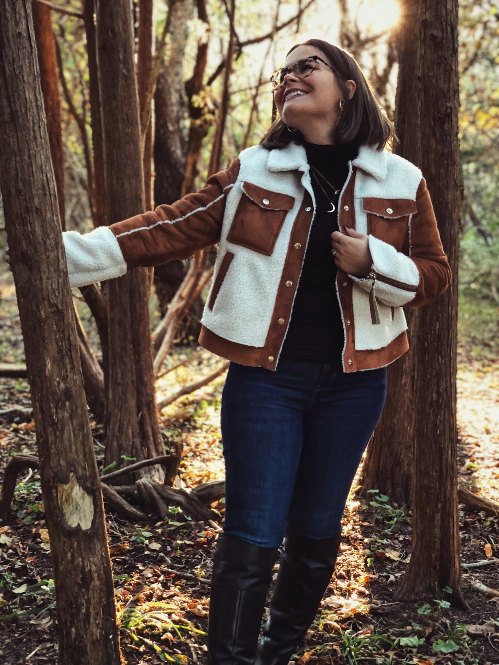my new jacket blended in with nature perfectly - Jacket, Barneys on ASOS