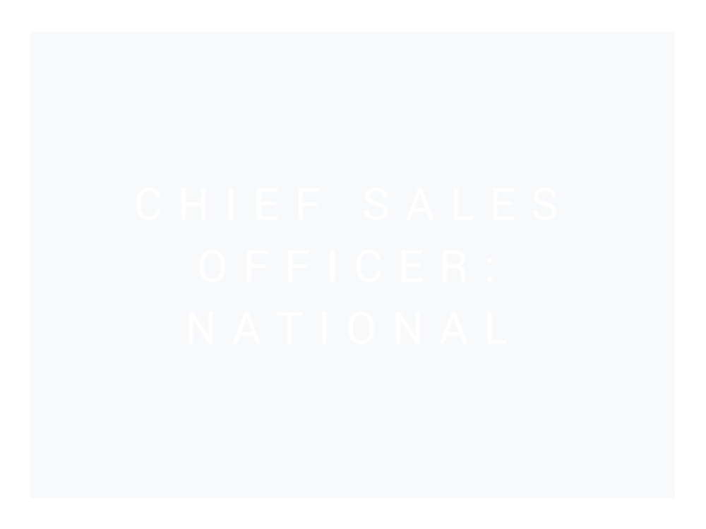 Chief Sales Officer