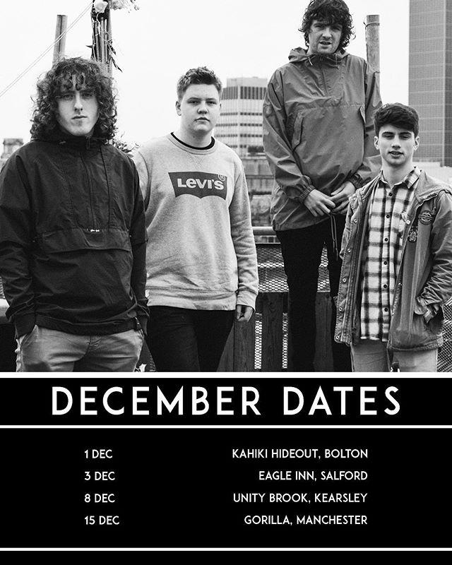DECEMBER DATES 👀 TICKETS ON WEBSITE in bio. Last night was class cheers @theatticdoctorsuk , TOMORROW @eagleinn  supporting @brokenhandsband as part of their tour. Get on down, they are fucking class X