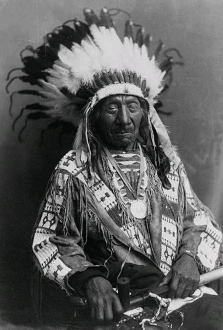 Elder Red Cloud in the Wicasa Itancan   shirt