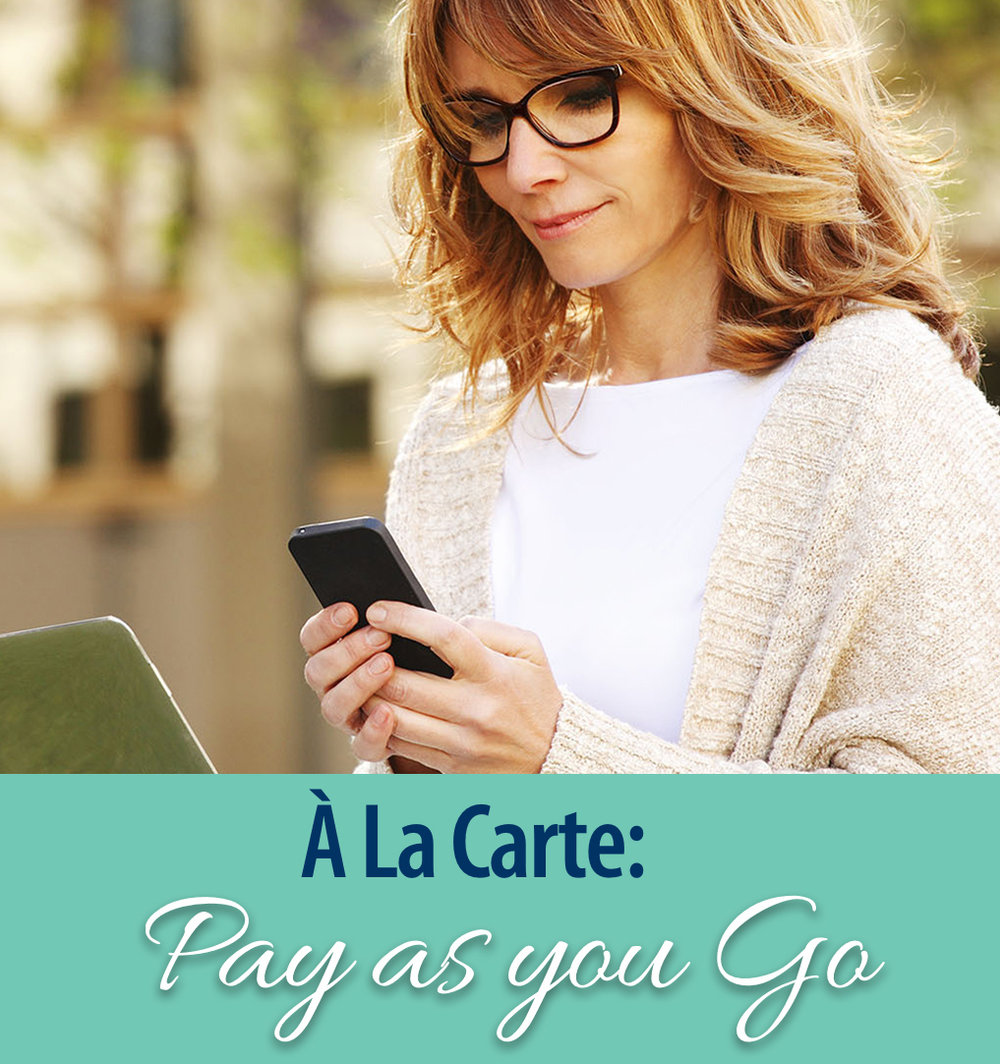 Pay as you Go Package
