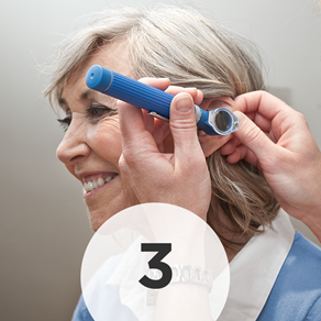 Step 3: - We will perform a variety of audiological tests to determine what hearing loss you are experiencing. Rest assured, these hearing tests are painless and non-invasive.