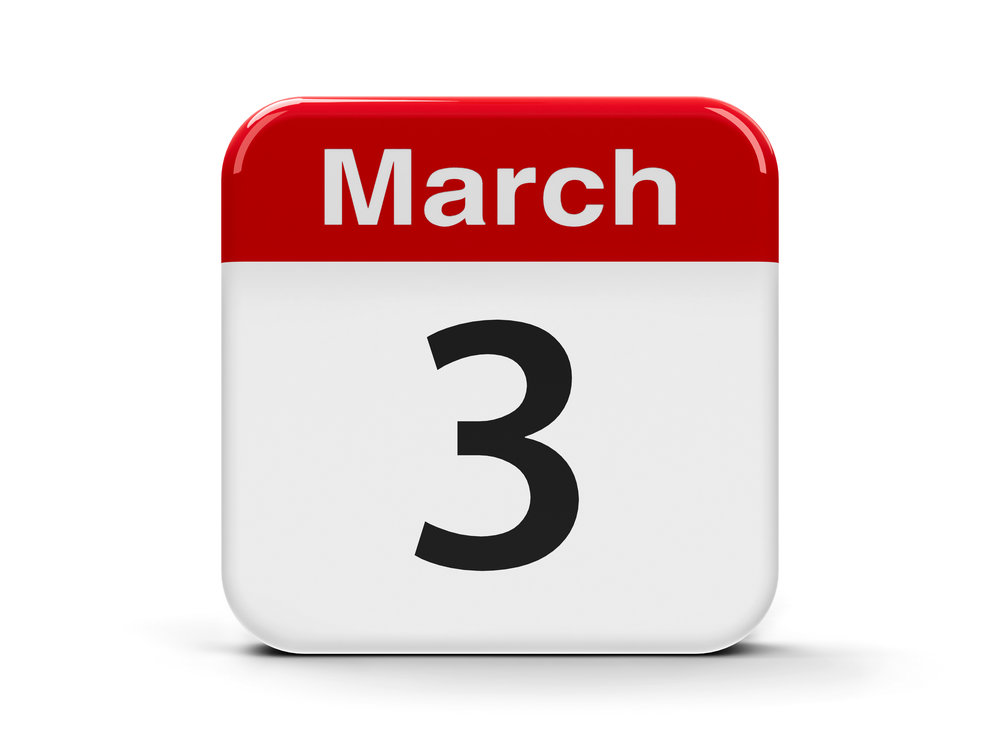 3rd March