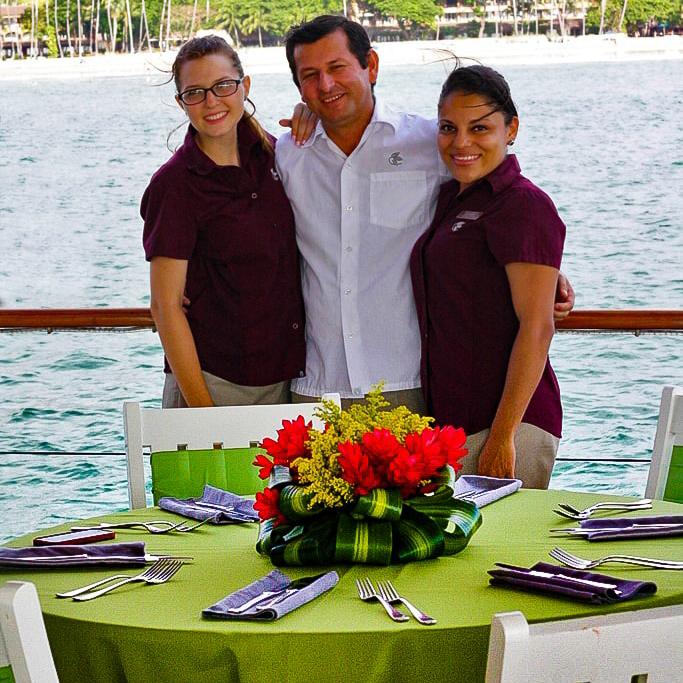 private catamaran events costa rica catamaran weddings boda