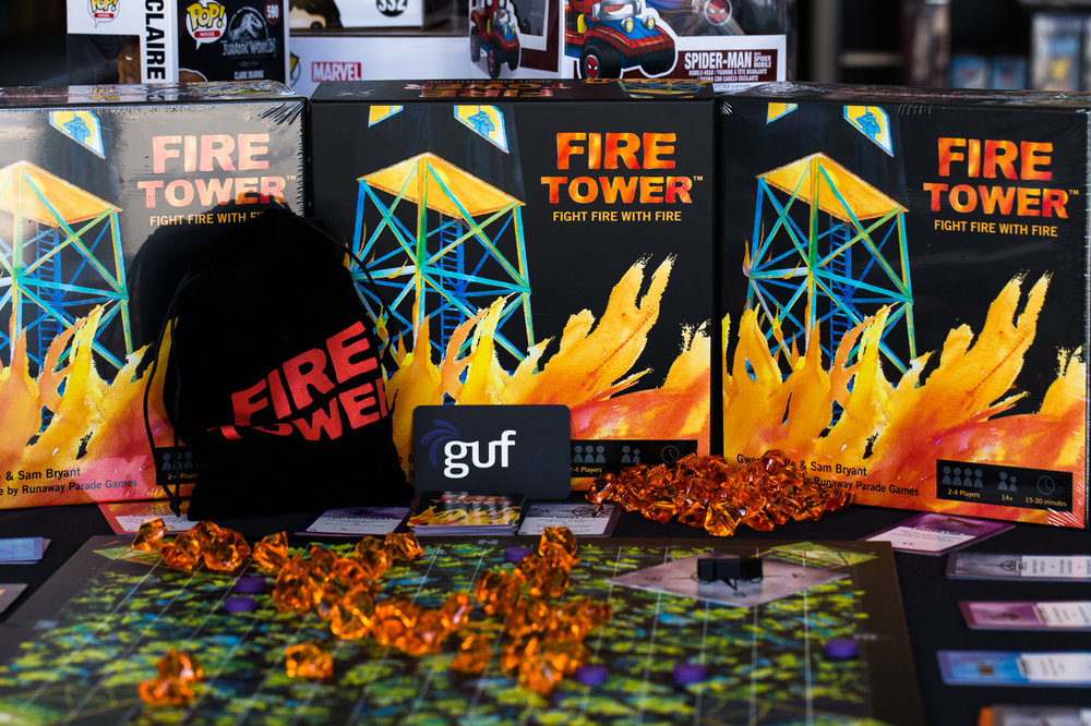 Fire Tower on display at   Guf Games     in Australia.  Photo courtesy of Mark Carter.