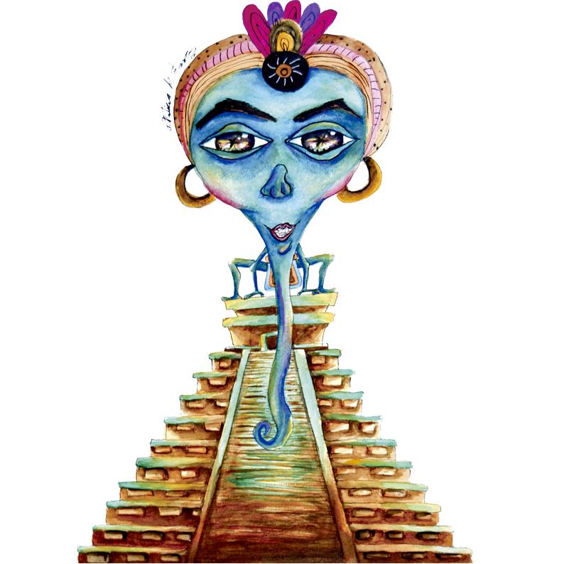 Alux  Mitología maya   Ver más…