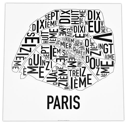 Paris B W Ork Telegramme Prints And Custom Framing