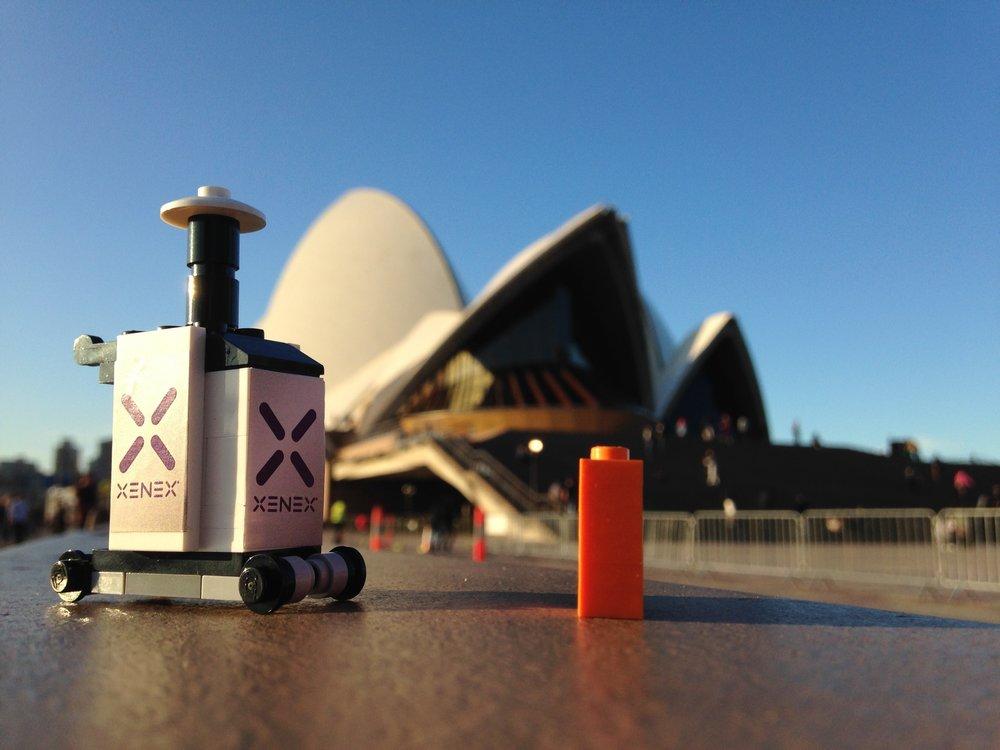 xenex - LEGO Masterbuilding - Graphic Design