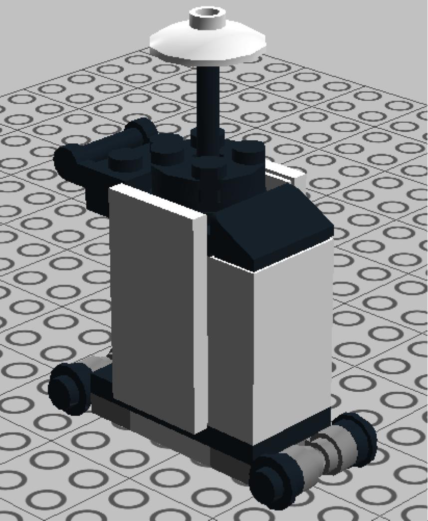 Final Design in LEGO Digital Designer