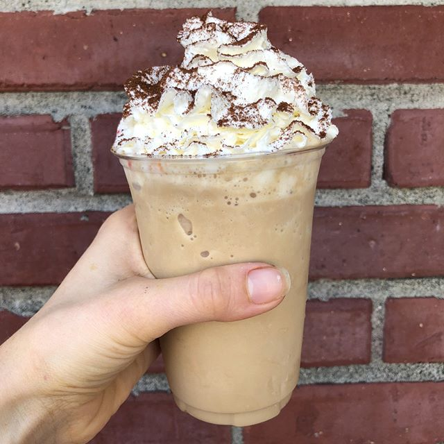 It's a perfect day for something blended with ice. #staycoolseattle #blendedcoffee #shackcoffee #westseattlesummerfest