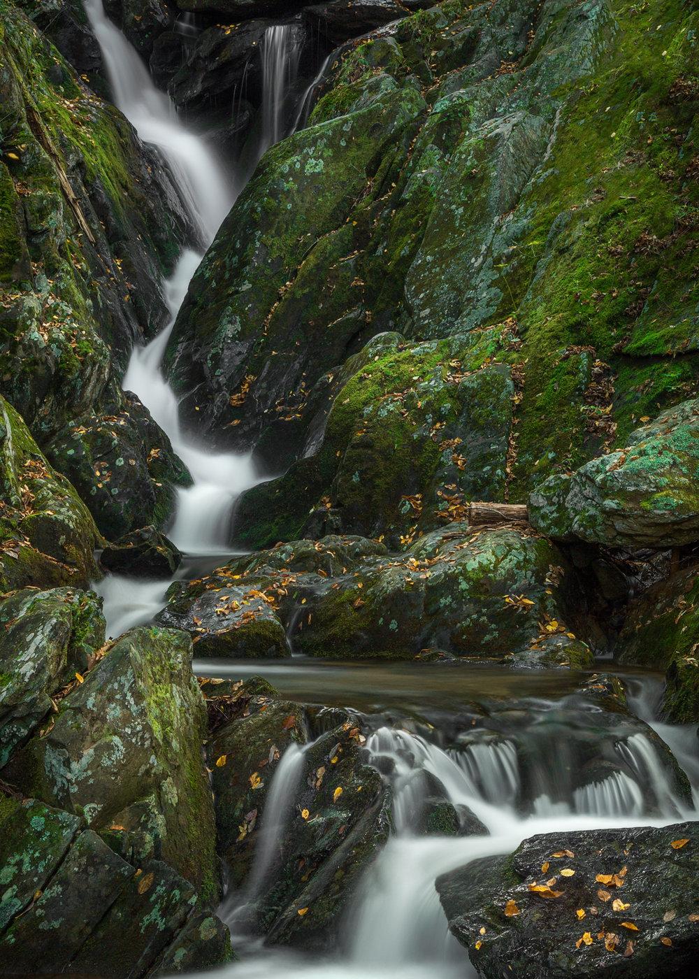 Autumn Waterfall Shenandoah National Park, VA 2018