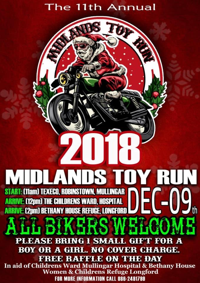 Midlands Toy Run 2018