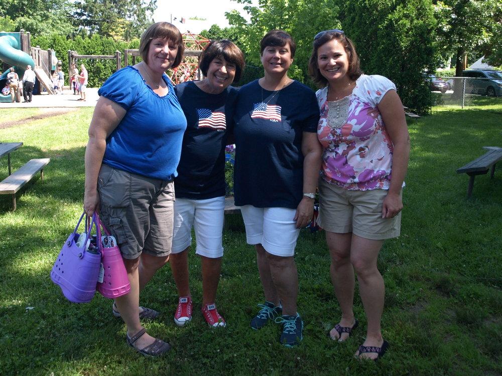 me, Ms. Marie, Ms Sara, & Amy