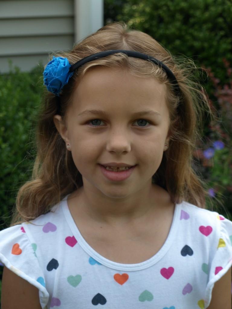 Zoe at 8