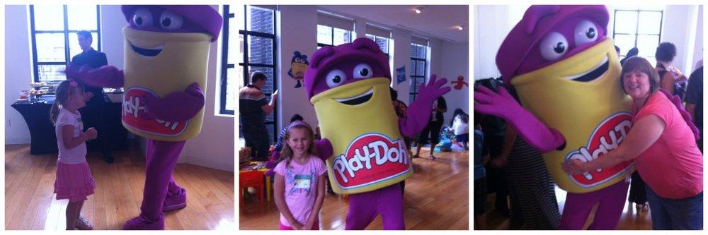 play-doh man