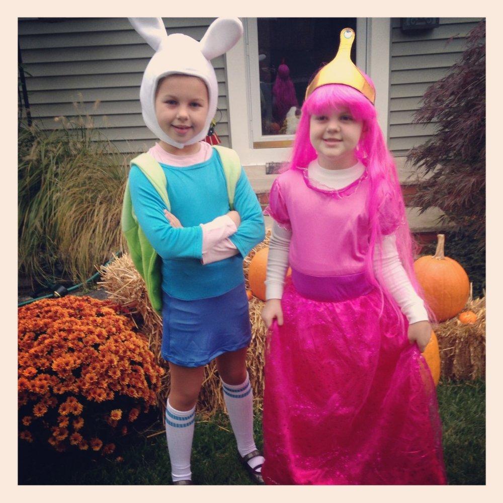 Fiona and Princess Bubblegum