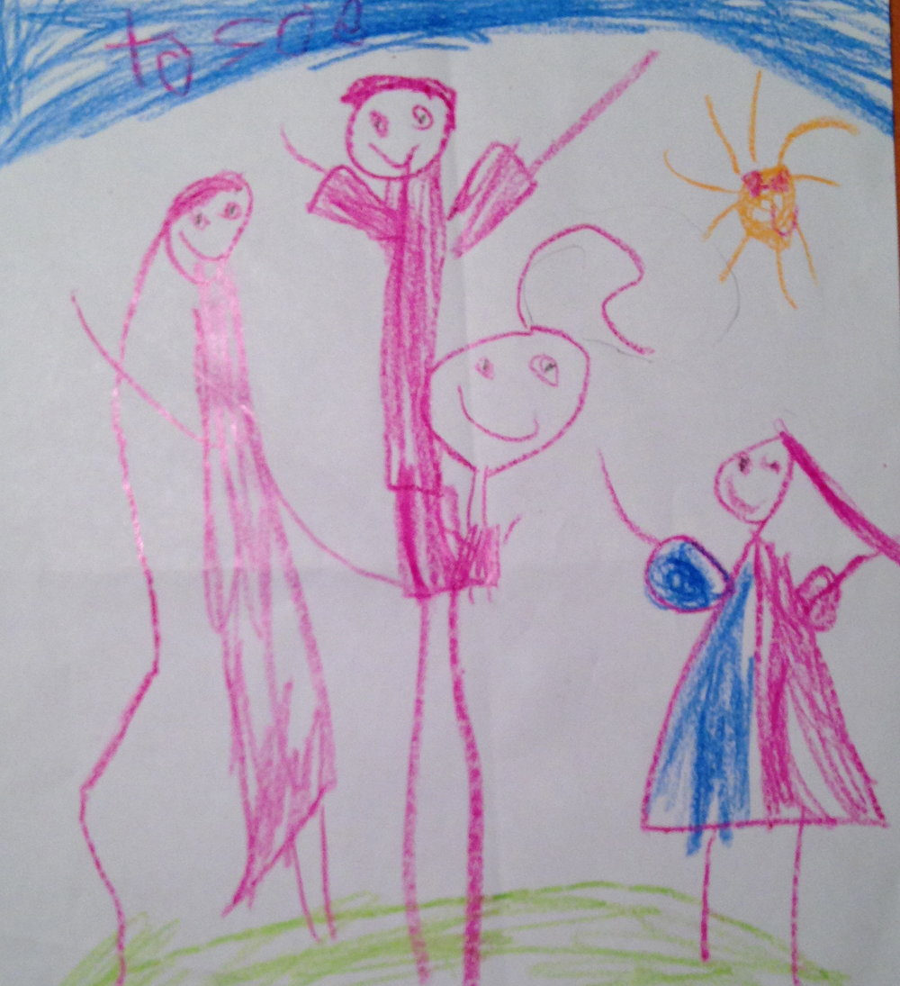 Family portrait by Ana.