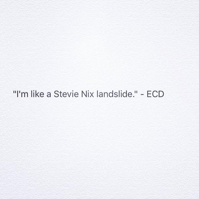 #stevienicks #landslide #ecdproblems #adlife #adofcontext #outofcontext