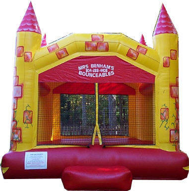first bounce house