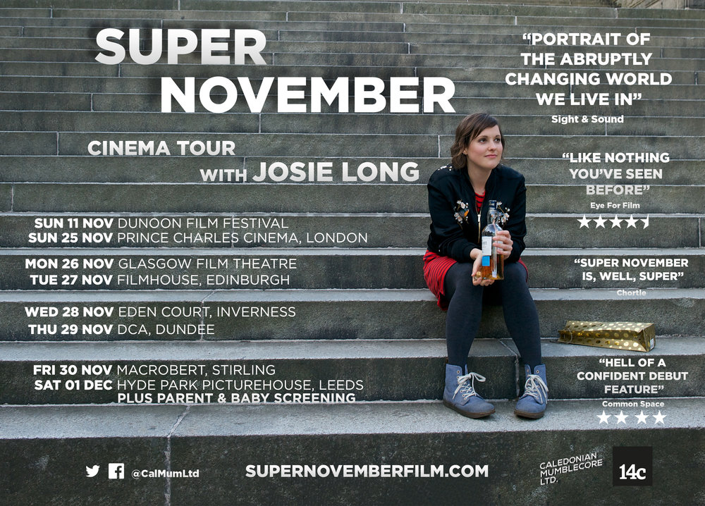 More dates being added! https://www.supernovemberfilm.com/tour/
