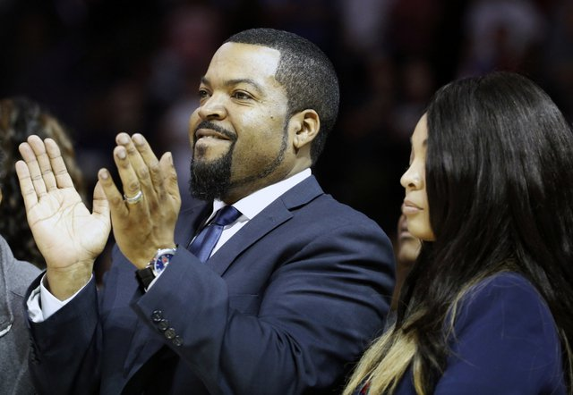 Ice Cube's Big3 Basketball League recently announced players would be ableto use cannabidiol (CBD) for medical purposes. (AP Photo/Kathy Willens)