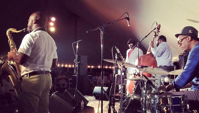 Gregory Porter band @ Jazz on the Vineyard!