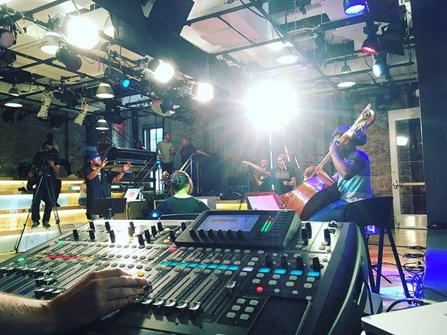 I Heart session w/Drumma Boy @YouTube Studios NYC.