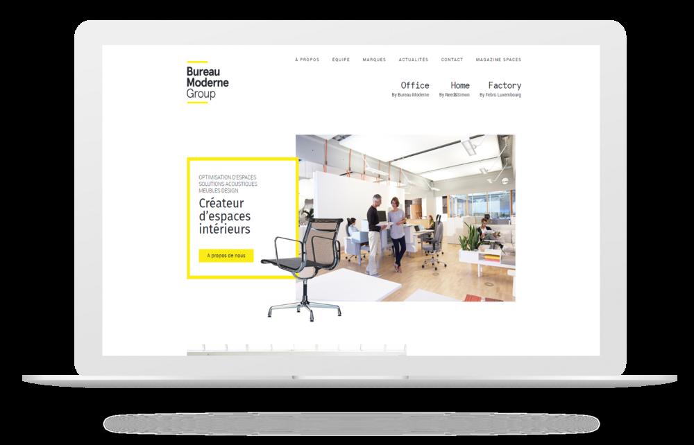 Découvrez le nouveau site Bureau Moderne