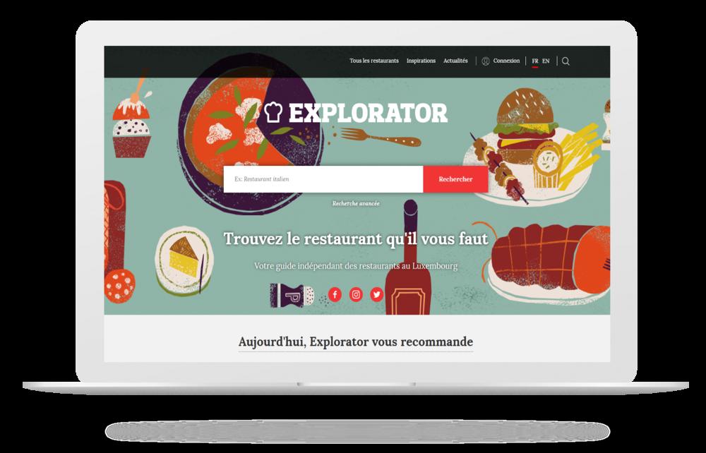 Découvrez le nouveau site Explorator