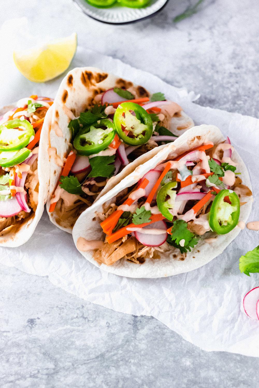 Bahn Mi Street Tacos   Midweek Minimalist