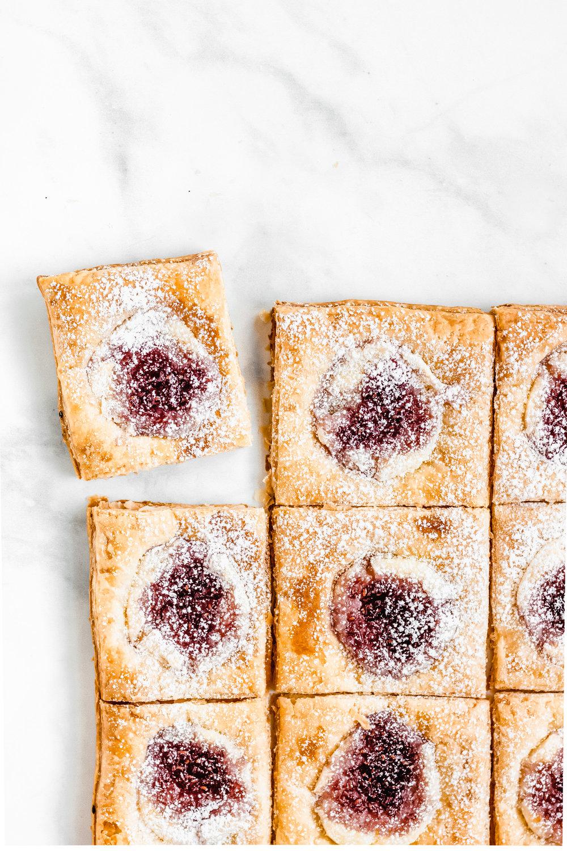 Raspberry Cream Cheese Danishes   Midweek Minimalist