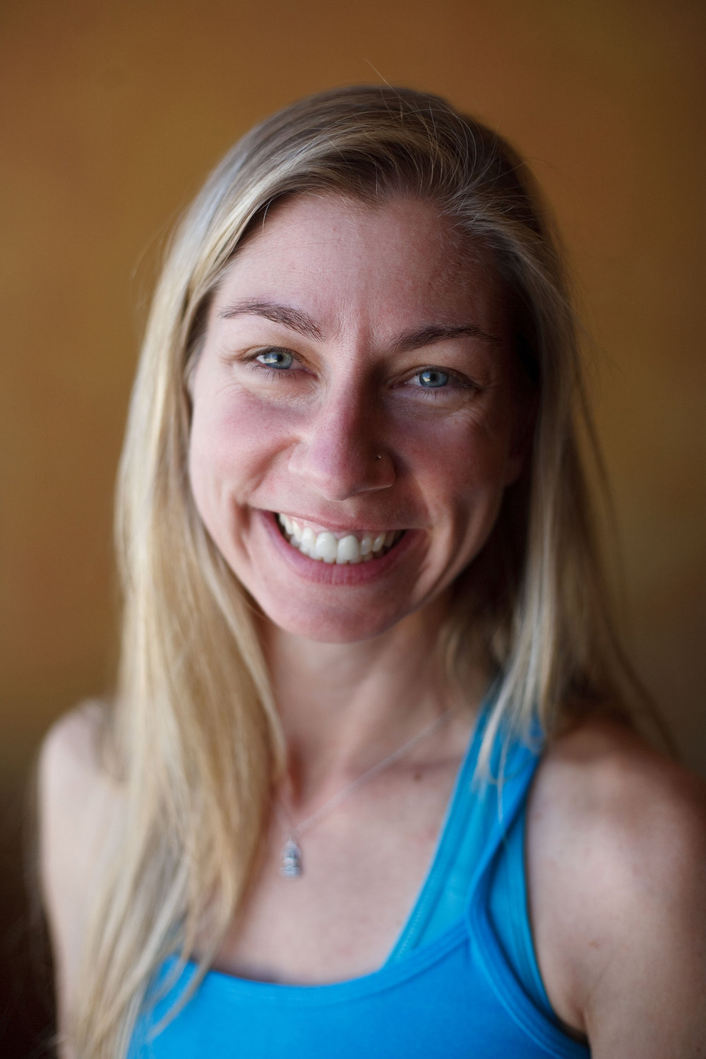 Samantha Akers - Samantha Akers began practicing yoga in 2000, after being diagnosed with Chronic Fatigue and Fibromyalgia. She credits Restorative Yoga and meditation, to her healing. She began teaching yoga in 2002, receiving her first certification in Hatha and Kundalini with Karuna Yoga in Los Angeles. She went on to graduate from her 500 hour program in 2009. She then became increasingly interested in the Therapeutic Style of Iyengar Yoga and studied Therapeutics with Judith Lasater, Leeann Carey and Russ Pfeiffer. Samantha is also a massage therapist, specializing in combining mindfulness with bodywork, earning her certification from one of the only 1000 hour programs in Los Angeles, in 2009.She is a certified yoga therapist (C-IAYT) and sees over 50 private students a month, mixing modalities of yoga, meditation and bodywork.She began studying mediation with Pema Chodron in 2000. Her current teachers are Shinzen Young and George Haas at Against the Stream in LA.In 2012, she opened TheraYoga Studio in Los Angeles, bringing the TheraYoga Method (TM) to the community and now teaches regular weekly classes at Om Shala Yoga in Arcata, CA.