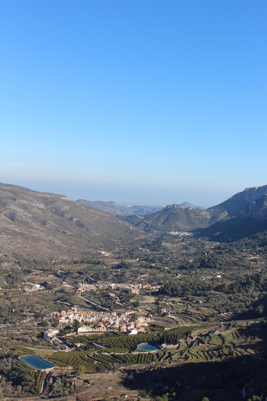 Valle de Gallinera