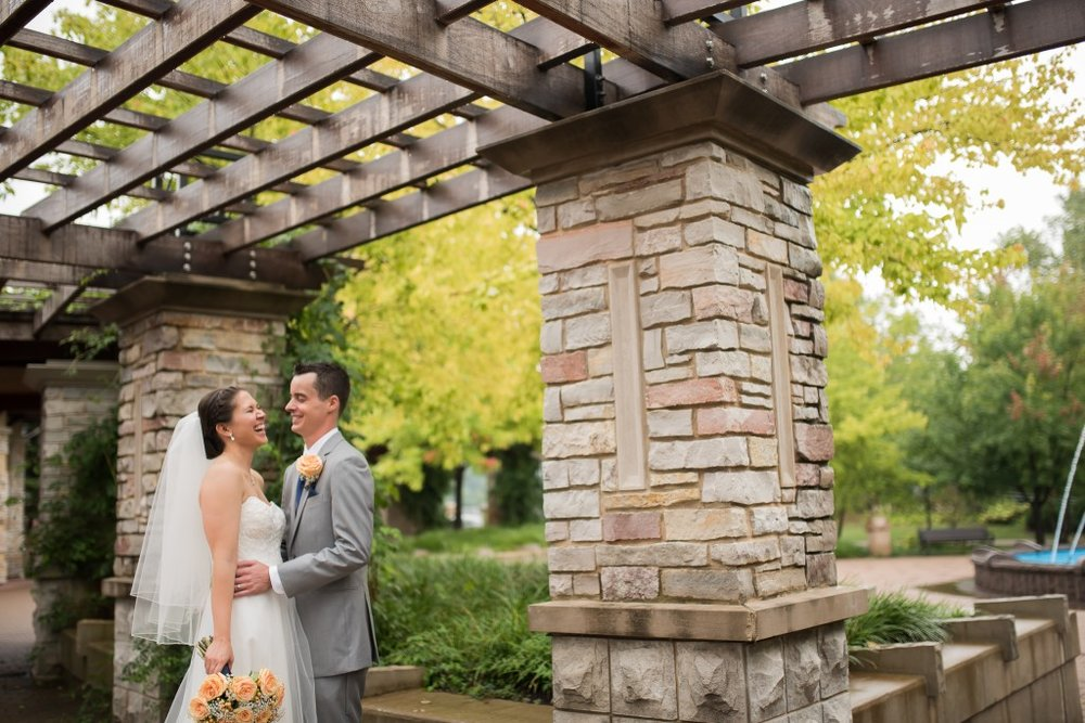 Naperville Riverwalk Wedding Day, Ashley Hamm Photography