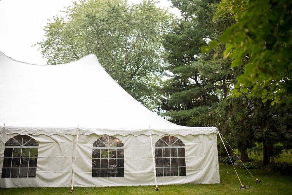 Chicago White Tent Wedding, Ashley Hamm Photography