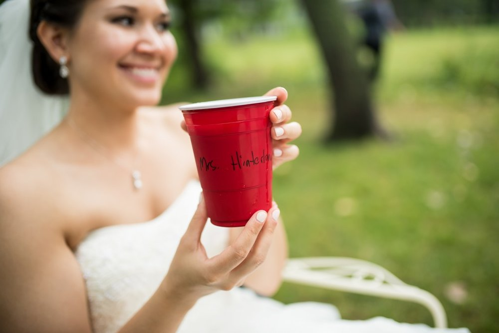 Red Solo Cup Wedding Celebration, Chicago
