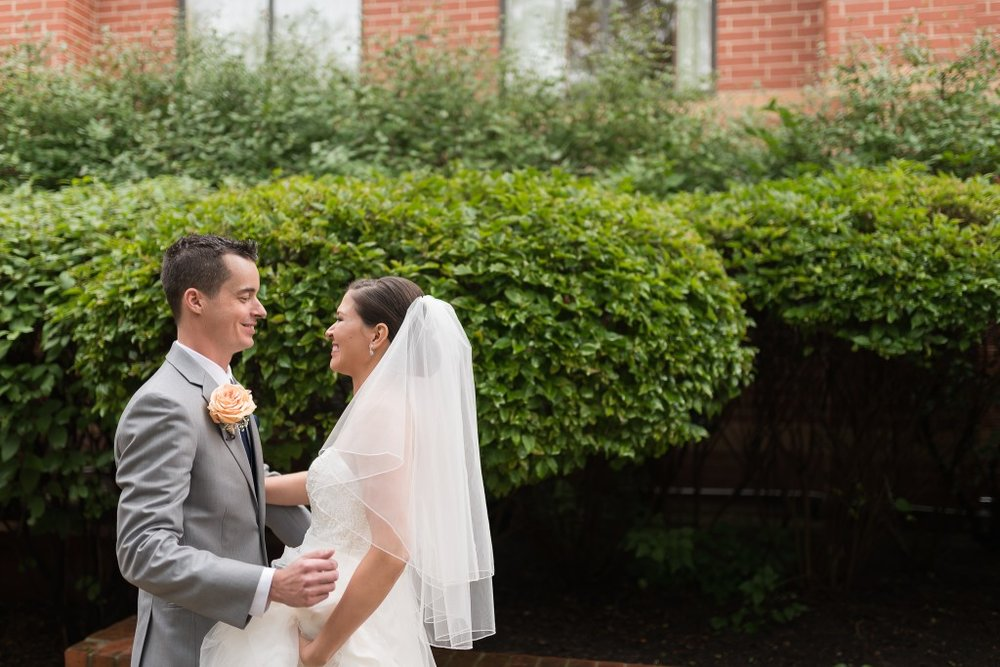 Naperville First Look, Ashley Hamm Photography