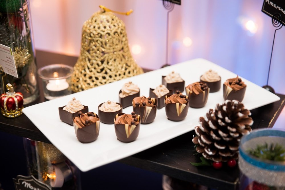 Ovy Catering Wedding Sweets Table, Ashley Hamm Photography
