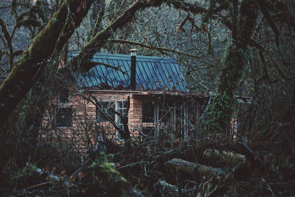 Kitchen cabin from afar