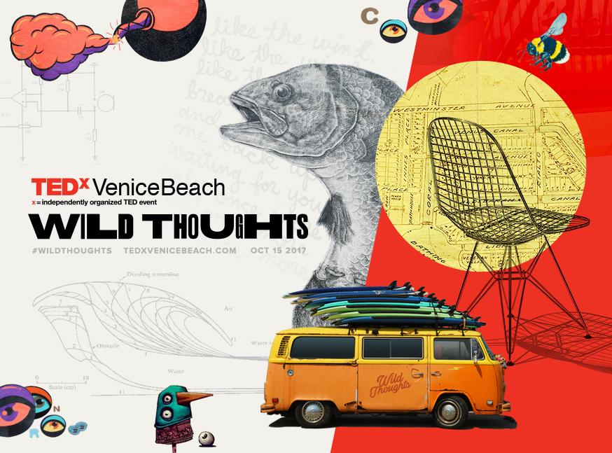 TEDx Venice Beach - BRANDING