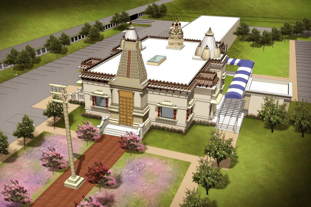 tristate hindu temple -