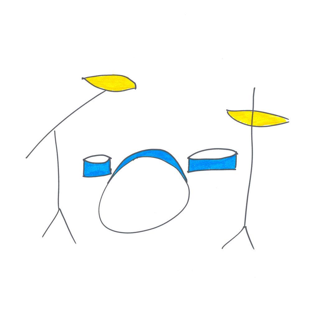 Gianni Brezzo - Gianni Brezzo, c'est un passe-partout à l'italienne. Enfin, plutôt un prête-nom, un peu comme Paul Bismuth, mais pour la bonne cause. Avec sa pochette naïve et sa sonorité italienne, Tamburi Blu EP pourrait se faire passer pour le projet solo d'un batteur transalpin. Eh bien, non, c'est le groupe à géométrie variable de musiciens allemands de Cologne qui s'amusent àbrouiller les pistes entre électro minimaliste et jazz synthétique. Une démarche qui rappelle Mehliana ou Jaga Jazzist. Ce qui est plutôt (très) bon signe.