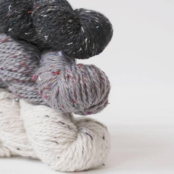 ECHOVIEW FIBER MILLRecycled Yarn Collective - CHUNKY- Thick and Thin140 Yds90% Superfine Merino Wool, 10% Recycled Yarn $26.00