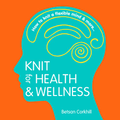 Her book    Knit for Health & Wellness ,   is the easy-to-read compilation of her research and experiences.