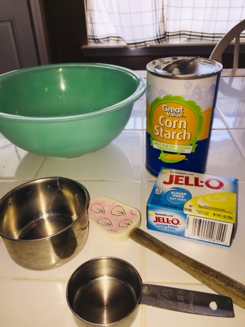 Three ingredients is all it takes to keep the kids occupied all afternoon!